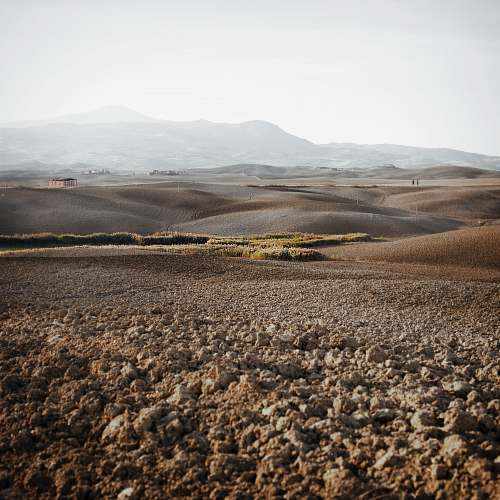 italy landscape photograph of steppe ground