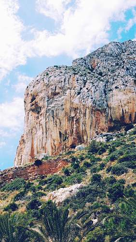 photo cliff landscape photography of mountain calp free for commercial use images