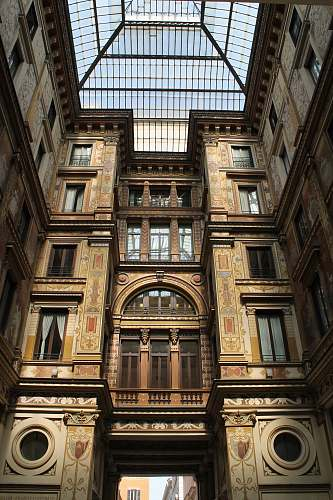 building photo of brown concrete building interior rome