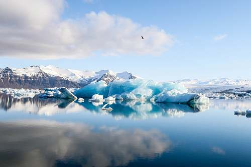 photo nature ice bergs and alp mountains facing calm body of water ice free for commercial use images