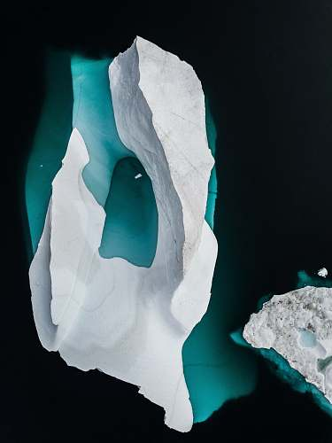 ice Iceberg drone photo  outdoors