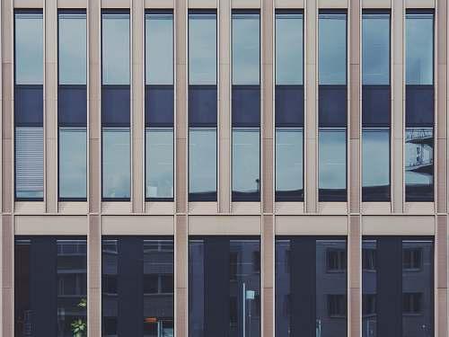 cologne grey glass paneled building home decor