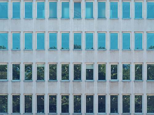window white concrete bulding cologne