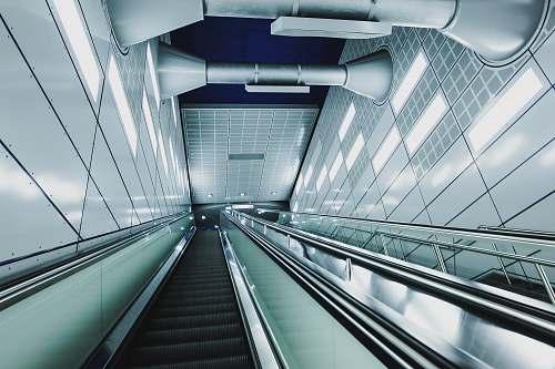 germany black escalator underground
