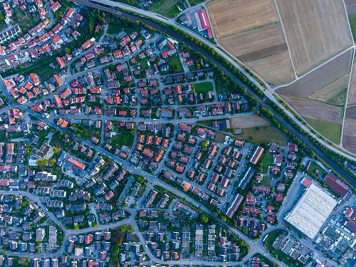 city aerial photography of houses and buildings ehningen