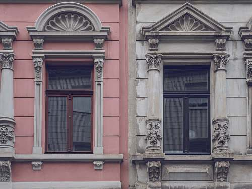 cologne architectural photography of pink and gray house home decor