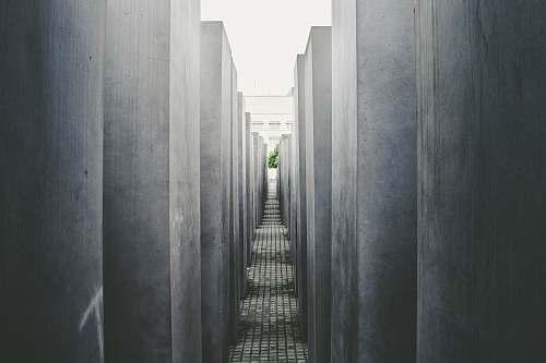 concrete concrete hallway berlin