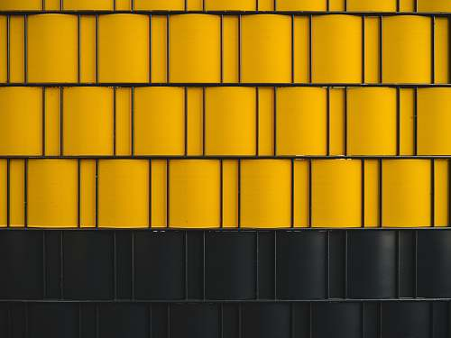 yellow digital wallpaper of yellow and black wall texture