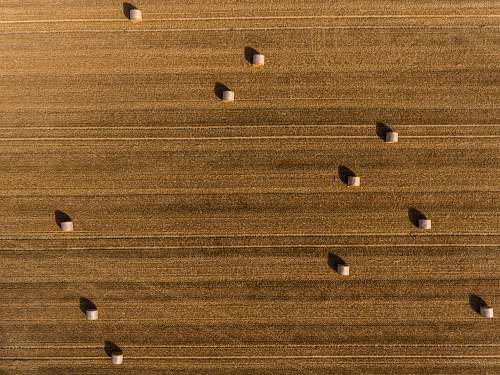 brown aerial photography of hays drone