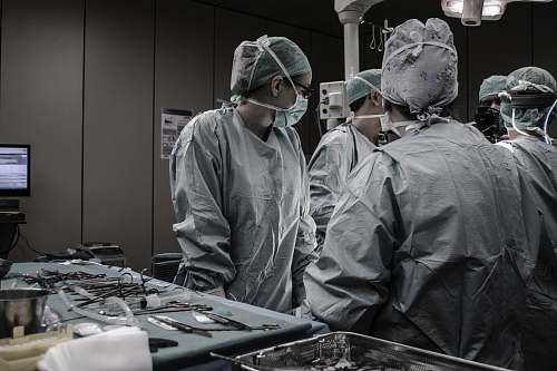 photo hospital medical professionals working surgery free for commercial use images