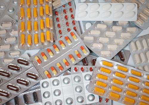 pill assorted blister pack lot warsaw