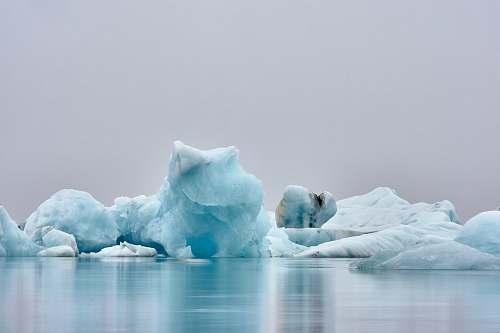 outdoors ice figure near body of water ice