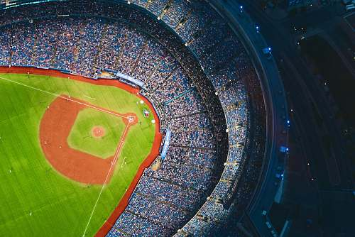 photo baseball aerial photography of baseball stadium baseball field free for commercial use images