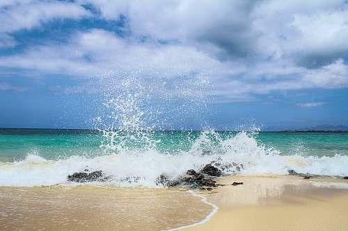 ocean waves on seashore during daytime water
