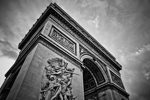 architecture Arc de Triumphe building