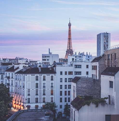 building Eiffel Tower, Paris paris