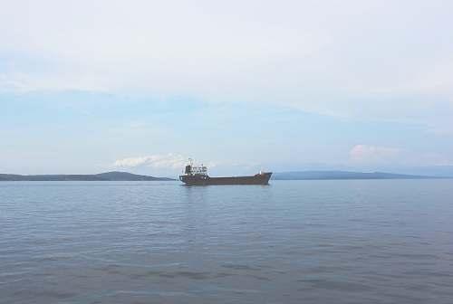ship vessel on sea transportation
