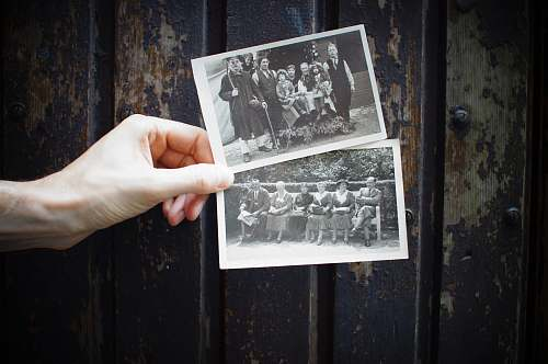 photo blackboard person holding vintage photos vintage free for commercial use images