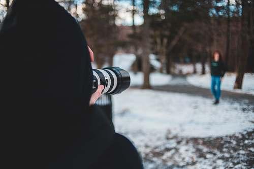 human  photographer