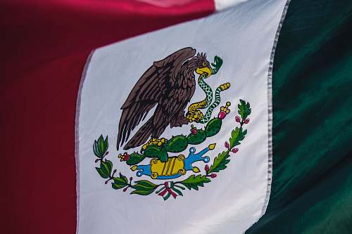 symbol flag of Mexico animal