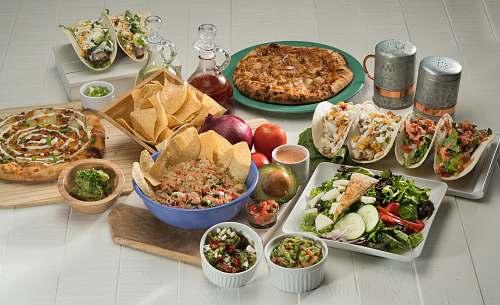 salad assorted foods bowl