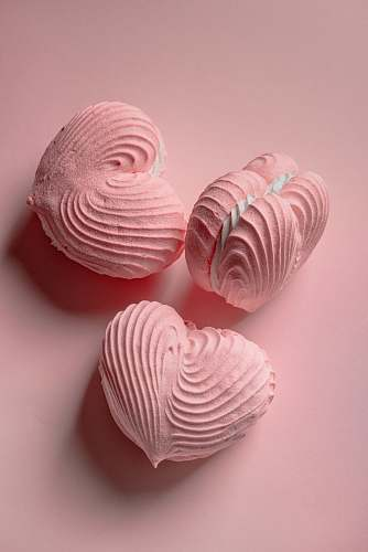 sweets heart-shaped macaroons confectionery