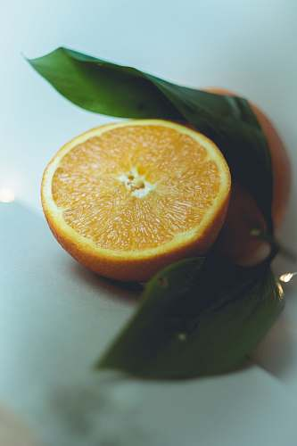 food orange fruit on white table citrus fruit