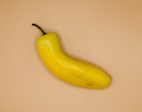 food yellow banana on white table banana