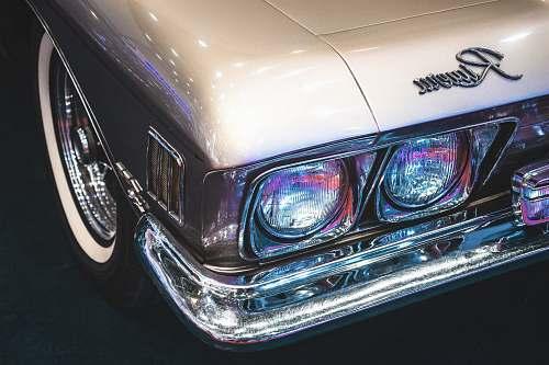 headlight photo of gray vehicle headlight headlights