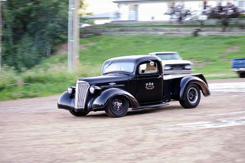photo vehicle vintage black car athabasca free for commercial use images