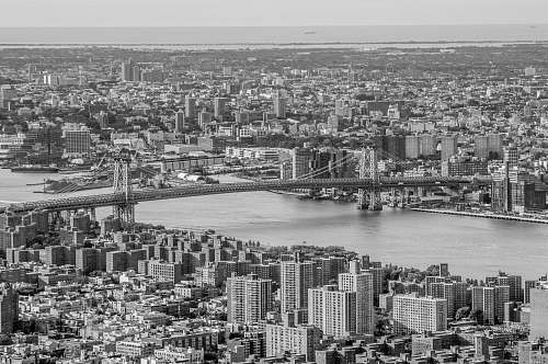 photo nature grayscale photo of city black-and-white free for commercial use images