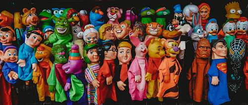 toy assorted Disney character toysd doll