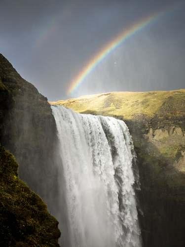 waterfall Kaietuer waterfalls rainbow