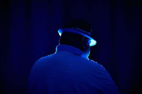 clothing man wearing hat human
