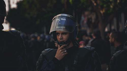 clothing man wearing uniform and helmet helmet