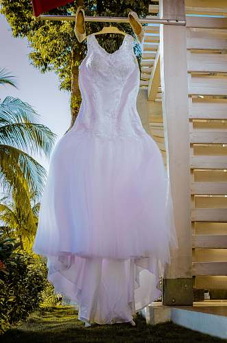 photo clothing white tank wedding dress hanged robe free for commercial use images