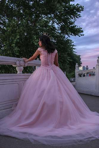 clothing women's pink evening dres fashion