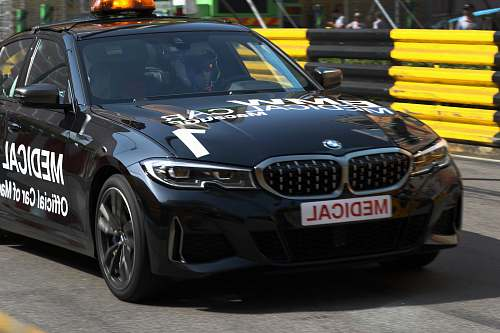 transportation black BMW vehicle vehicle