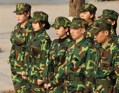 person military personnel standing military