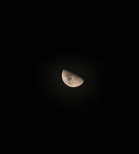 outdoors moon with black background moon