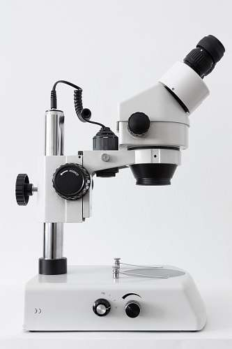 photo black-and-white white and black microscope on white surface microscope free for commercial use images