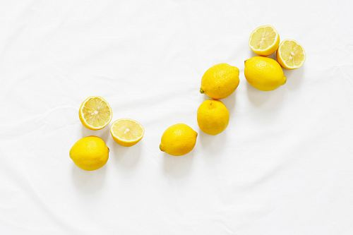 photo bunch of sliced American lemon free for commercial use images