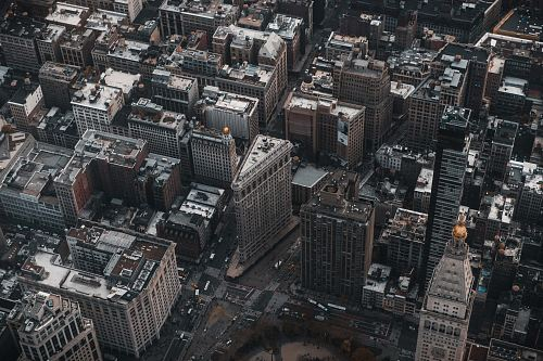 New York City in aerial photography