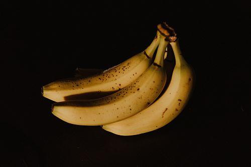 photo of bundle ripe bananas
