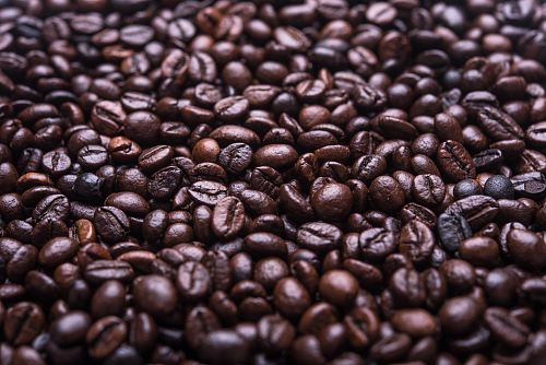 photo photograph of roasted coffee beans free for commercial use images