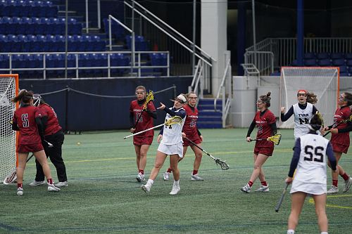 photo women playing lacrosse on field free for commercial use images