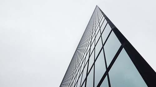 boston low-angle photography of glass building during daytime triangle