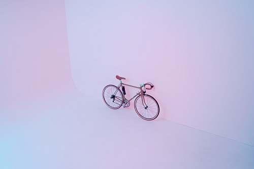 bicycle pink road bike vehicle