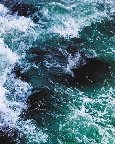 photo waves time lapse photography of sea wave ocean free for commercial use images