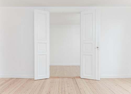 photo interior minimalist photography of open door door free for commercial use images